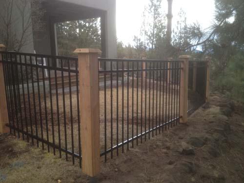 Cedar Fence Gate Fencing Lakeside Lumber The Northwest S