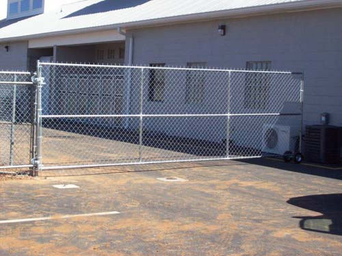 chain-link-slide-gate